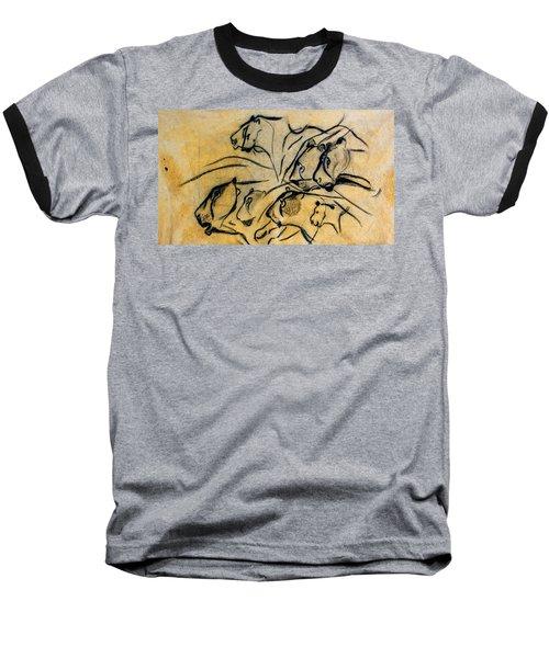 chauvet cave lions Clear Baseball T-Shirt