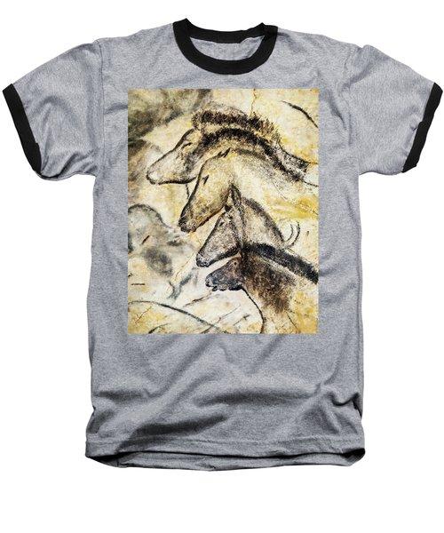 Chauvet Horses Baseball T-Shirt