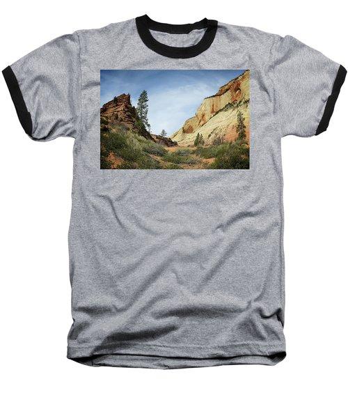 Checkerboard Mesa Baseball T-Shirt