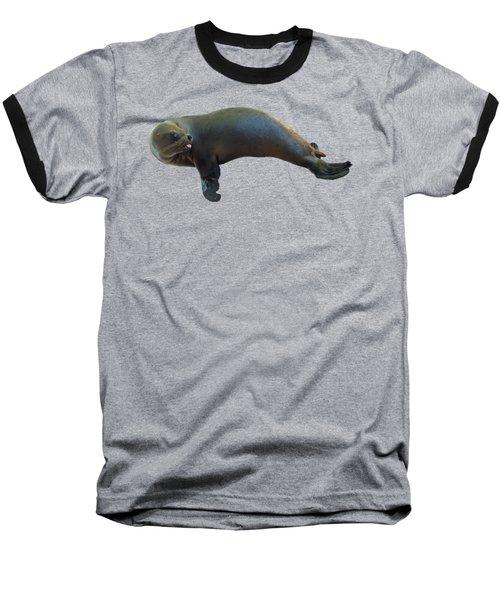 Cheeky Seal Baseball T-Shirt