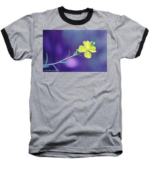 Cheer Up Buttercup Baseball T-Shirt by Stefanie Silva