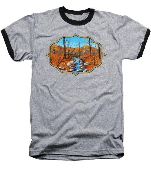 Cheerful Fall Baseball T-Shirt