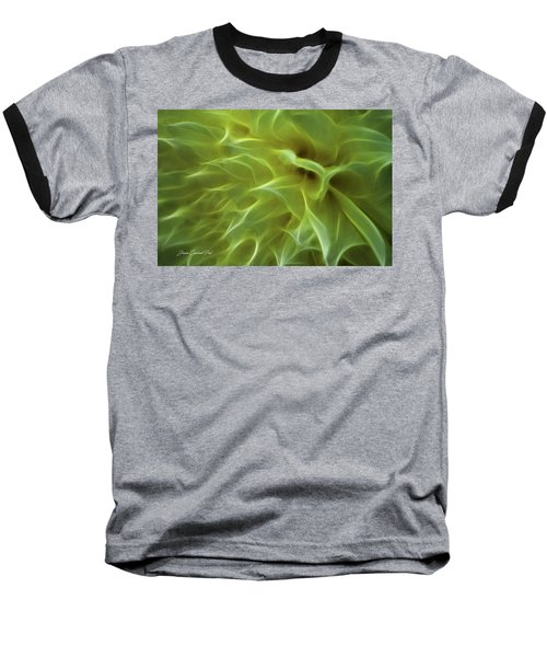 Cheery Chrysanthemum Baseball T-Shirt by Joann Copeland-Paul