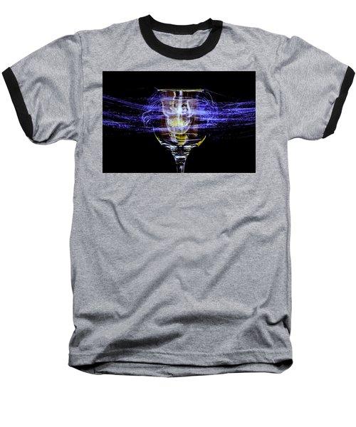 Cheese And Wine Baseball T-Shirt