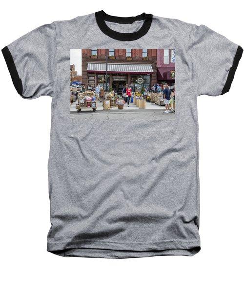 Cheese Shop In Detroit  Baseball T-Shirt