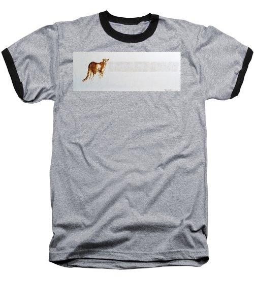 Cheetah And Zebras Baseball T-Shirt