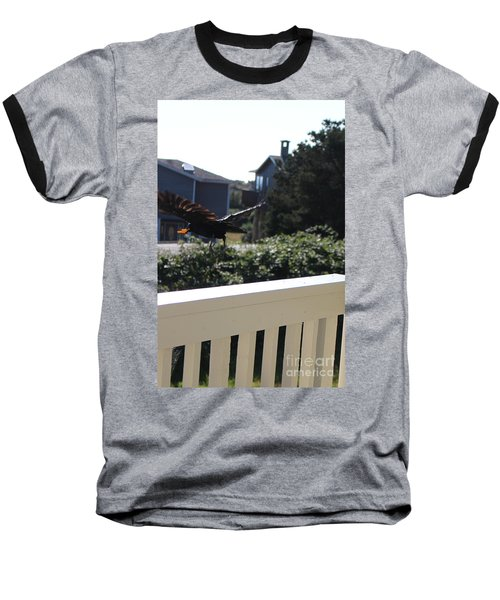 Baseball T-Shirt featuring the photograph Cheeto Bandido by Marie Neder