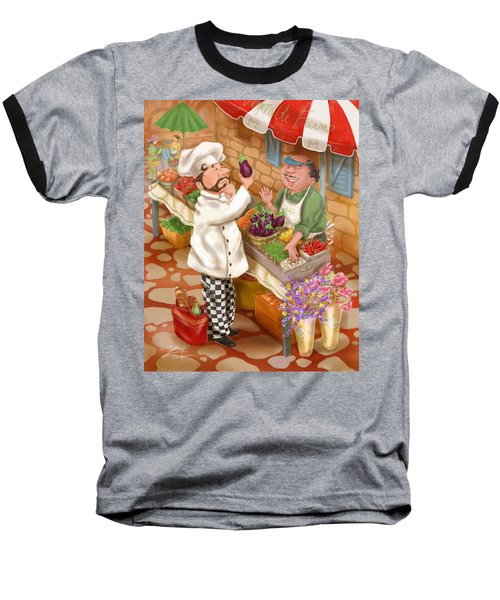 Chefs Go To Market I Baseball T-Shirt
