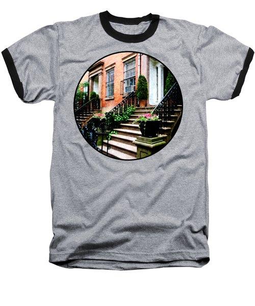 Chelsea Brownstone Baseball T-Shirt by Susan Savad