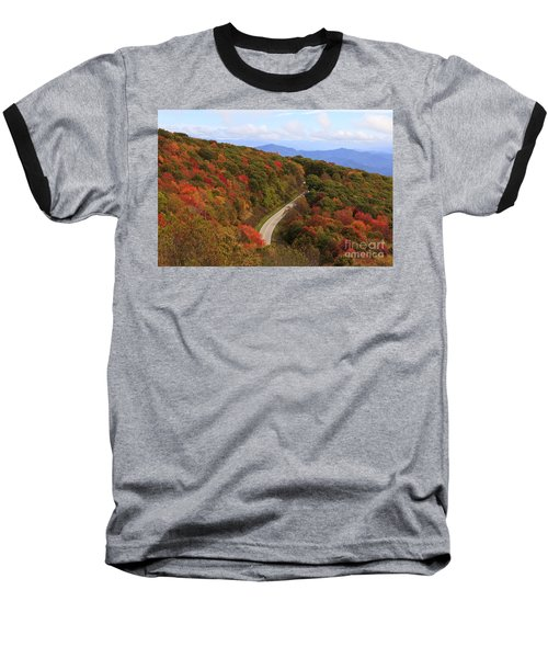 Cherohala Skyway In Nc Baseball T-Shirt