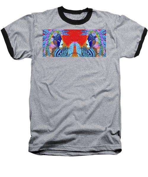 Closeup Cherokee Dancer Cup Baseball T-Shirt