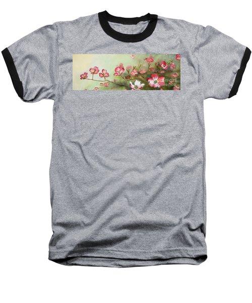 Cherokee Dogwood - Brave- Blushing Baseball T-Shirt