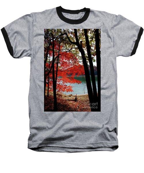 Baseball T-Shirt featuring the photograph Cherokee Lake Color by Douglas Stucky