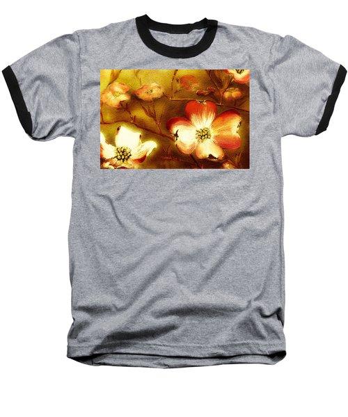 Cherokee Rose Dogwood - Glow Baseball T-Shirt