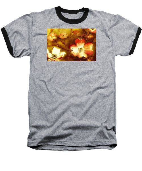Cherokee Rose Dogwood - Glow Baseball T-Shirt