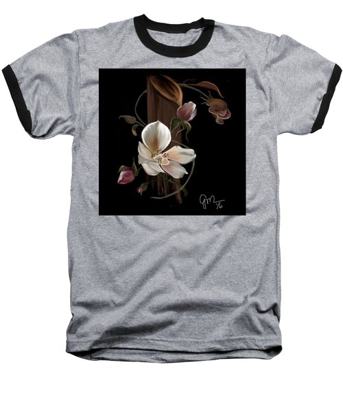 Cherokee Rose Baseball T-Shirt