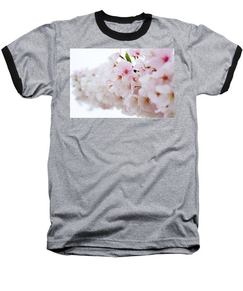 Cherry Blossom Focus Baseball T-Shirt
