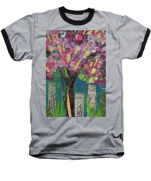 Cherry Blossom Too Baseball T-Shirt