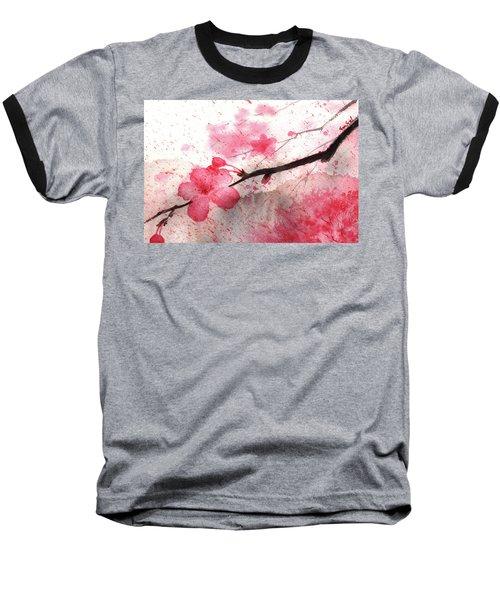 Cherry Blossoms 1 Baseball T-Shirt