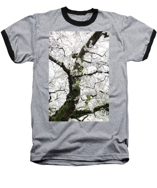 Cherry Blossoms 119 Baseball T-Shirt