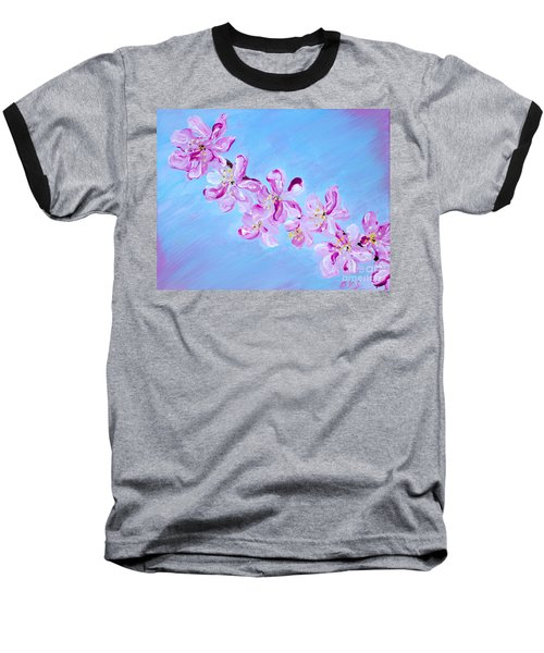 Cherry Blossoms. Thank You Collection Baseball T-Shirt