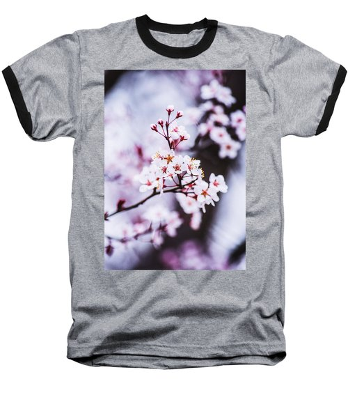Baseball T-Shirt featuring the photograph Cherry Blossoms by Parker Cunningham
