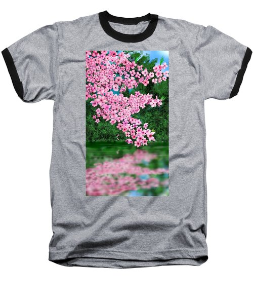 Cherry Reflection Baseball T-Shirt
