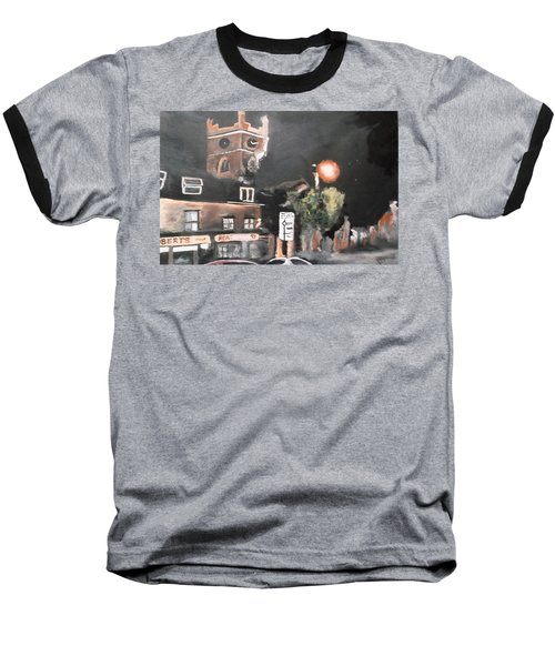Chertsey At Night 2 Baseball T-Shirt