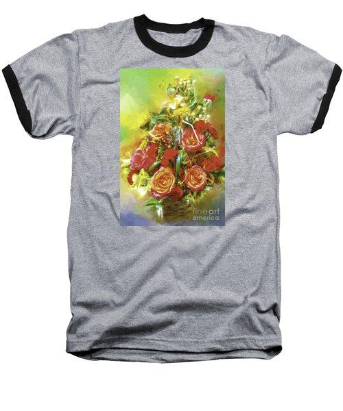 Cheryls Bouquet Baseball T-Shirt