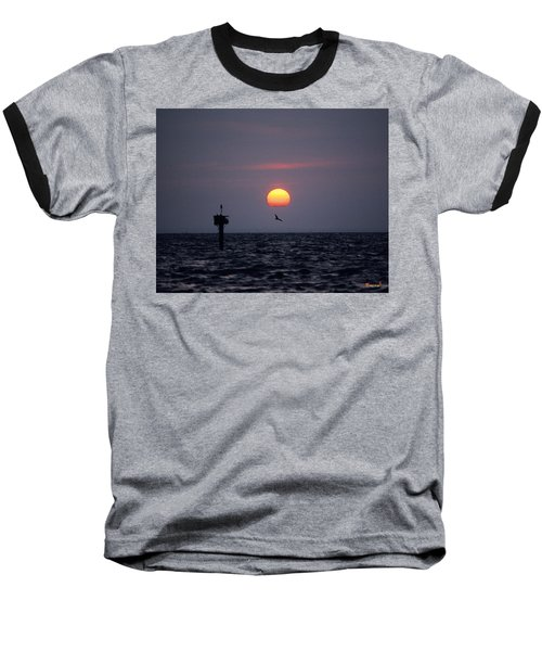 Baseball T-Shirt featuring the photograph Chesapeake Bay Osprey 14o by Gerry Gantt