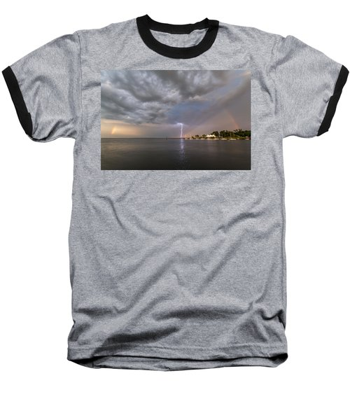 Chesapeake Bay Rainbow Lighting Baseball T-Shirt
