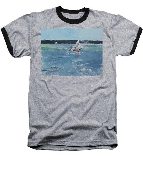 Chesapeake Bay Sailing Baseball T-Shirt