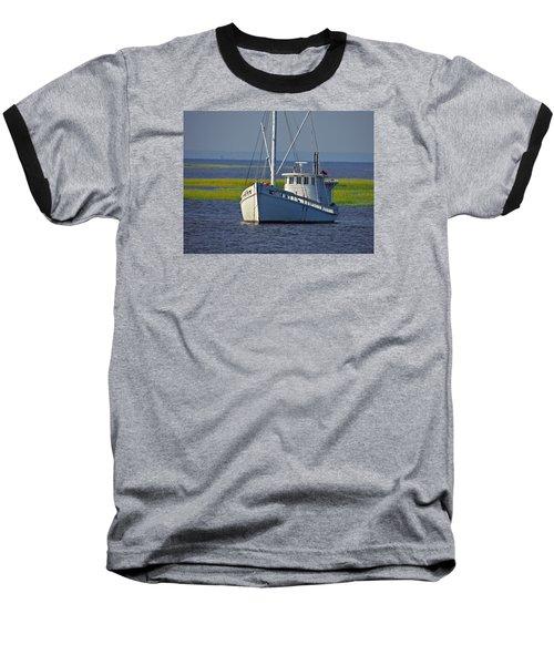 Baseball T-Shirt featuring the photograph Chesapeake Buy Boat by Laura Ragland