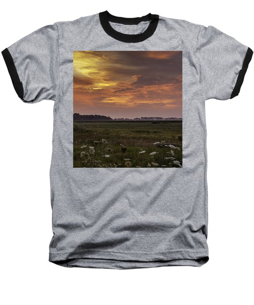 Chesapeake Sunrise II Baseball T-Shirt by David Cote