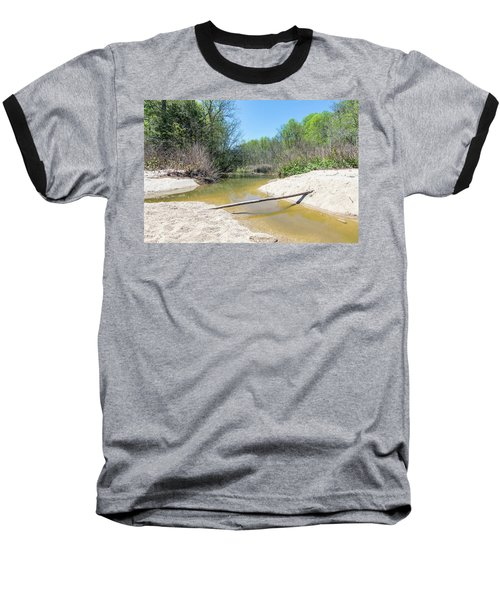 Baseball T-Shirt featuring the photograph Chesapeake Tributary by Charles Kraus