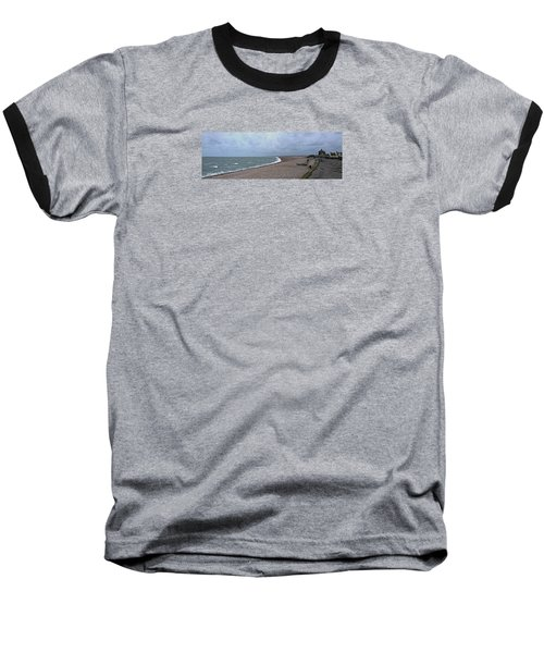 Chesil Beach November 2013 Baseball T-Shirt by Anne Kotan