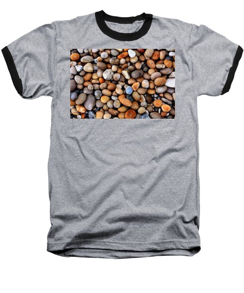 Chesil Pebbles Baseball T-Shirt