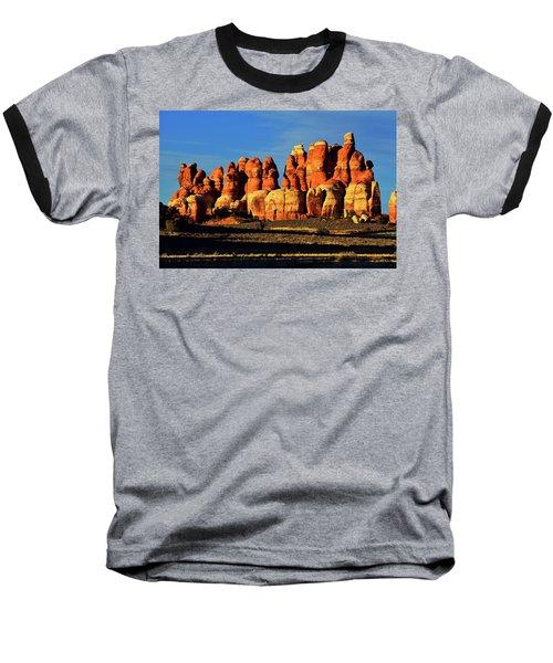 Chesler Park Sandstone Towers Baseball T-Shirt