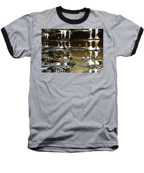 Chess Anyone Baseball T-Shirt by Melissa Messick