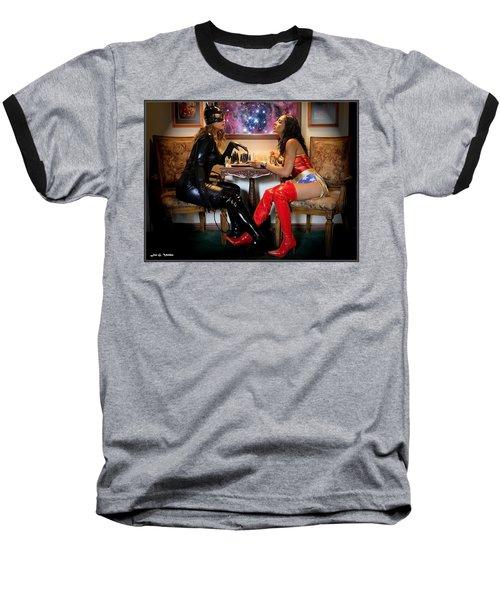Chess Match Baseball T-Shirt