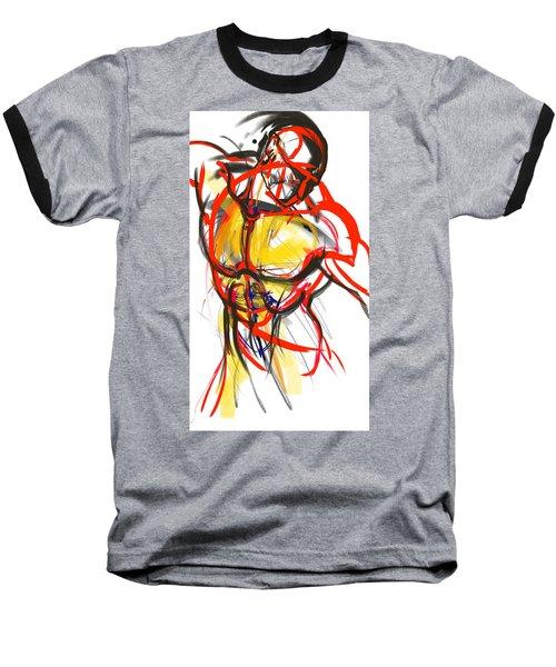 Chest Neck Study 1 Baseball T-Shirt