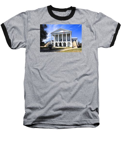 Chester South Carolina Court House Day 1 Baseball T-Shirt