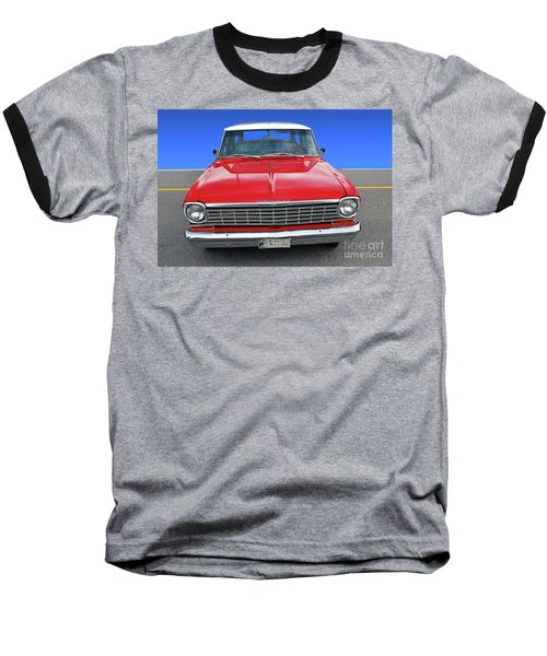 Chev Wagon Baseball T-Shirt