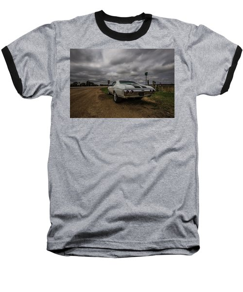 Baseball T-Shirt featuring the photograph Chevelle Ss by Aaron J Groen