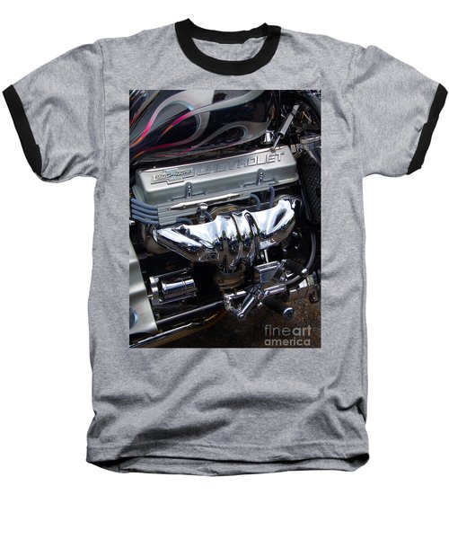 Chevrolet 400 Hp  Baseball T-Shirt by Diane E Berry