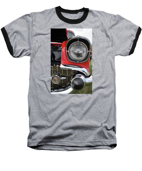Baseball T-Shirt featuring the photograph Chevy Bel Air by Glenn Gordon