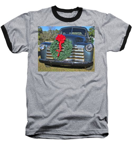 Chevy Christmas Baseball T-Shirt