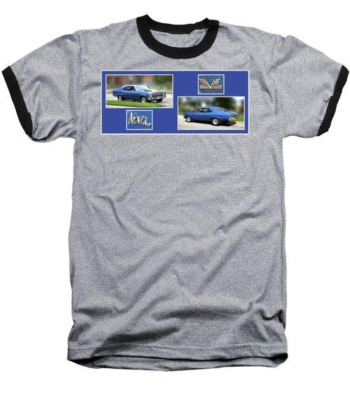 Chevy Nova Horizontal Baseball T-Shirt