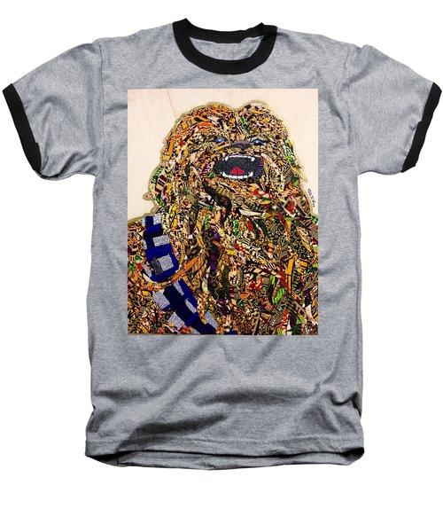 Chewbacca Star Wars Awakens Afrofuturist Collection Baseball T-Shirt