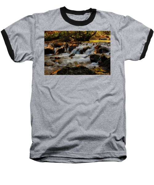 Baseball T-Shirt featuring the photograph Cheyenne Canyon Autumn by Ellen Heaverlo